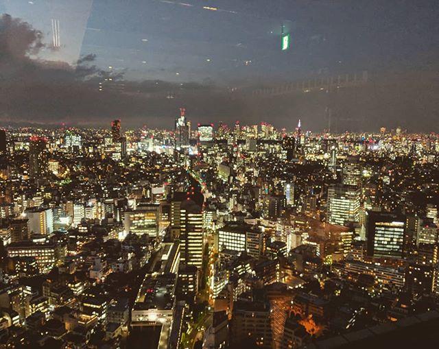 Tokyo at night #konnichiwa