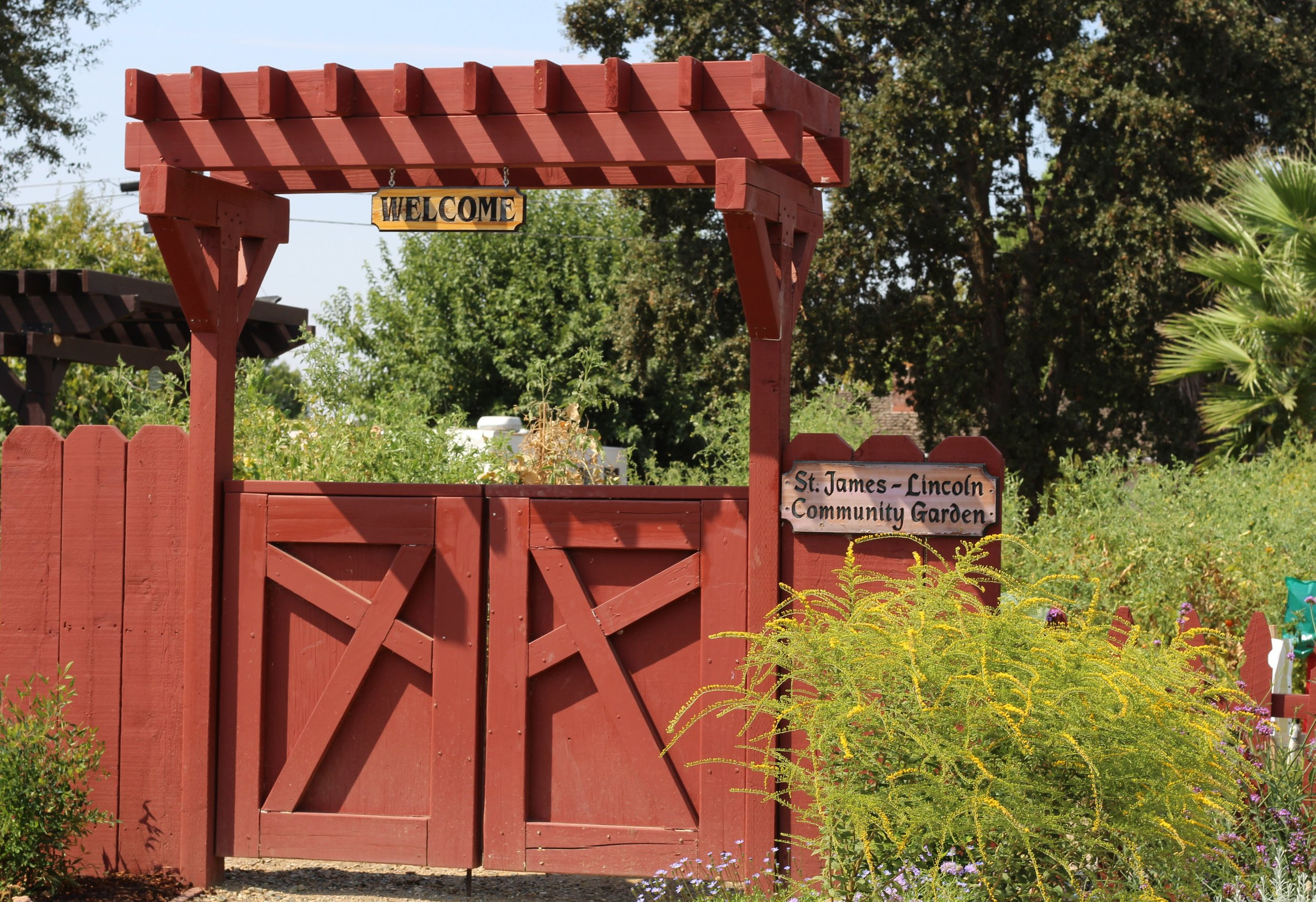 St. James Community Garden Welcomes All