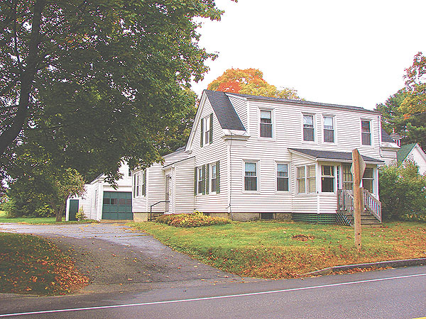 The October House facing Gray Road/Route 202