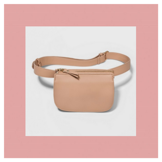 - Target A New Day Nude Pink Fanny Pack$20