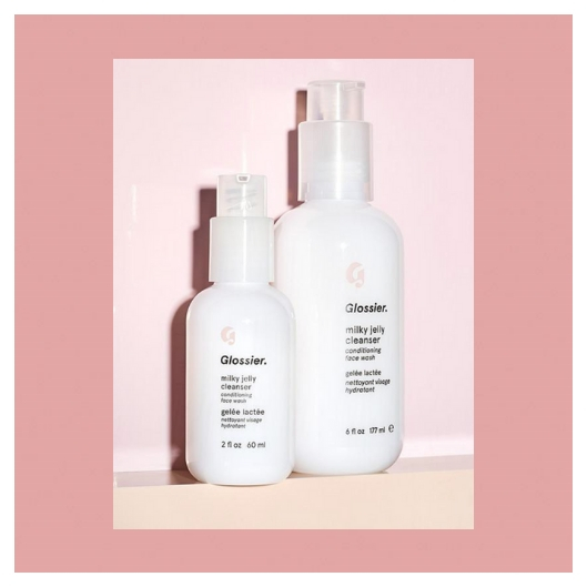 Glossier Photo courtesy of Glossier Website