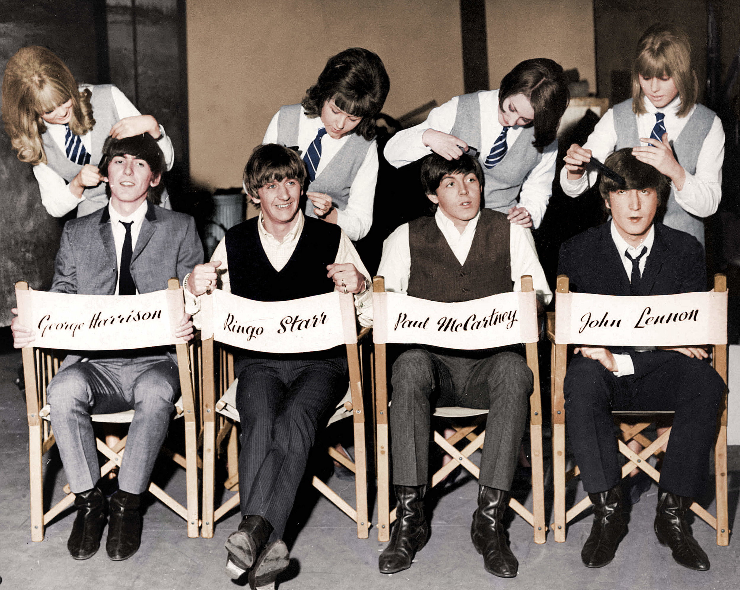 The Beatles, Hard Day's Night, 1964.jpg