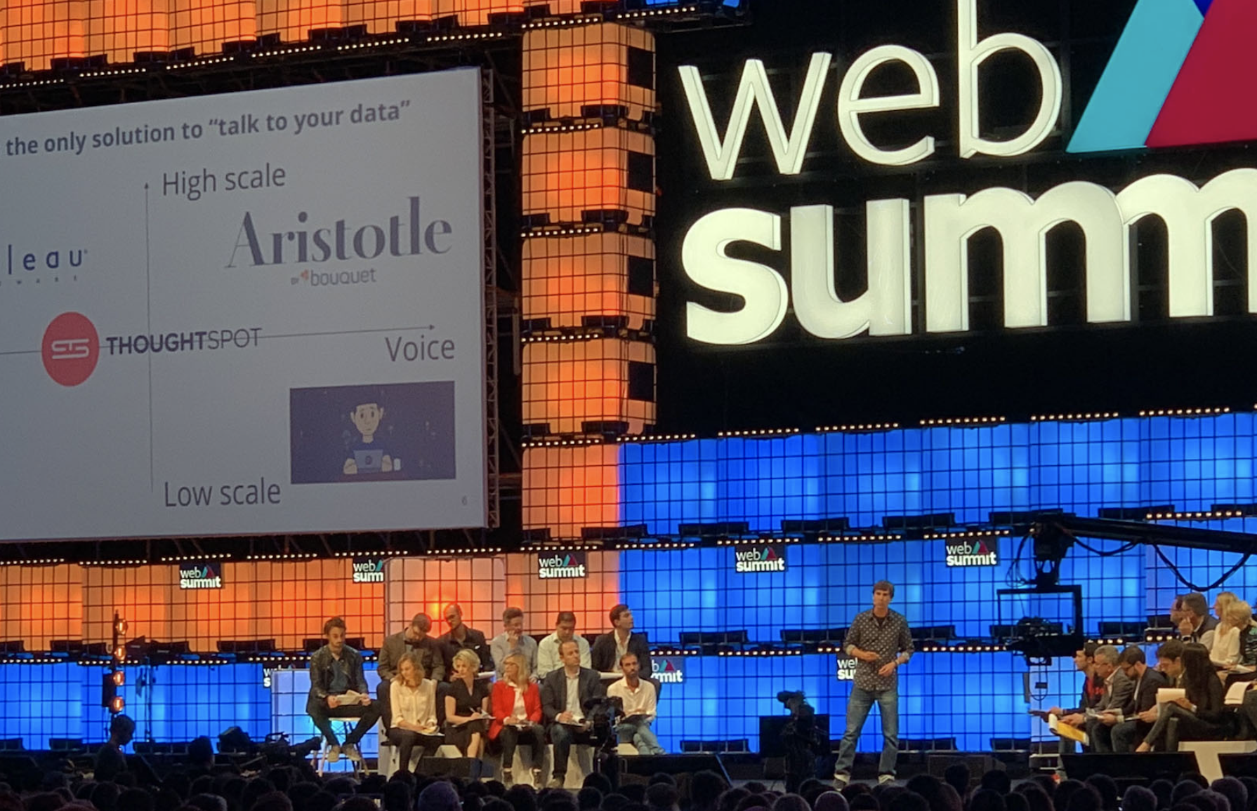 Web Summit 2018 | PITCH: Startup Battle Semi-Finals -