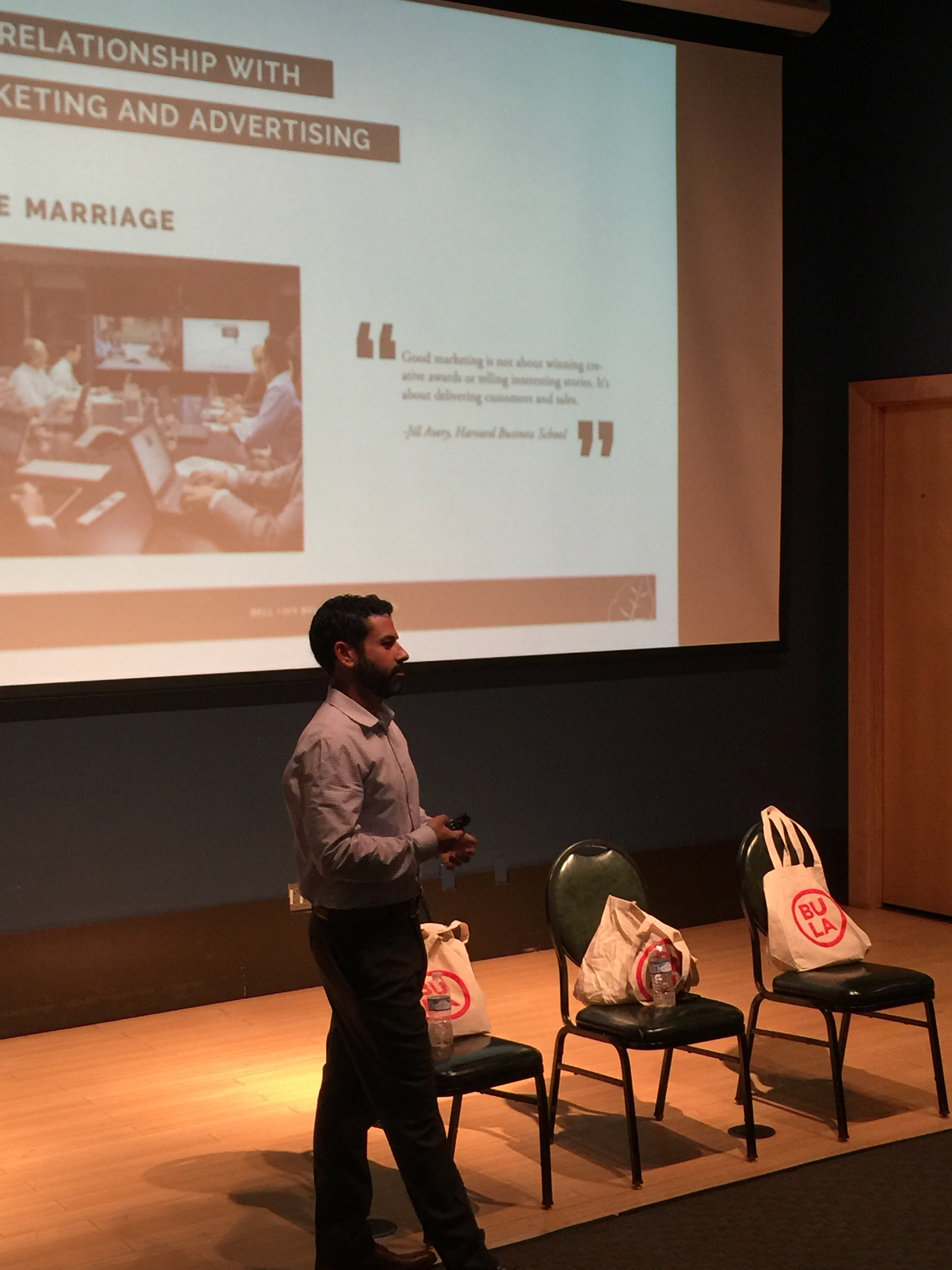 Personal Brand Workshop at Boston University - Zach Binder