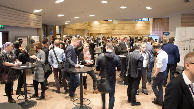 AI Day 2018 brought together over 550 people from academia, industry and public sector to exchange knowledge and ideas on AI. Photo: Matti Ahlgren