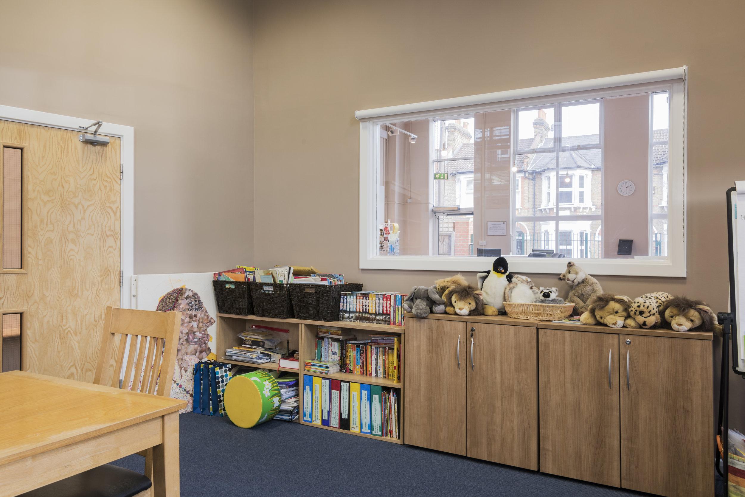 Head teacher office and meeting room