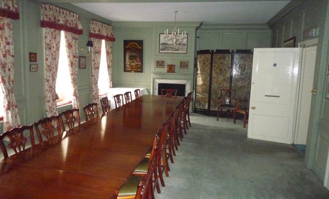 Buckmaster Room before refurbishment