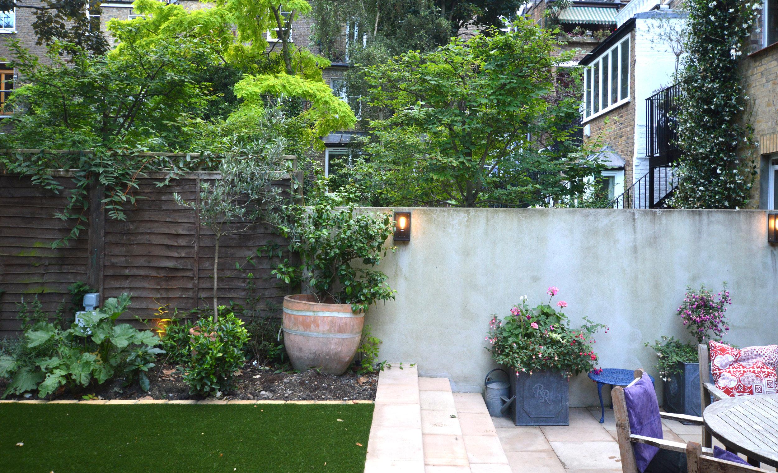 New garden works