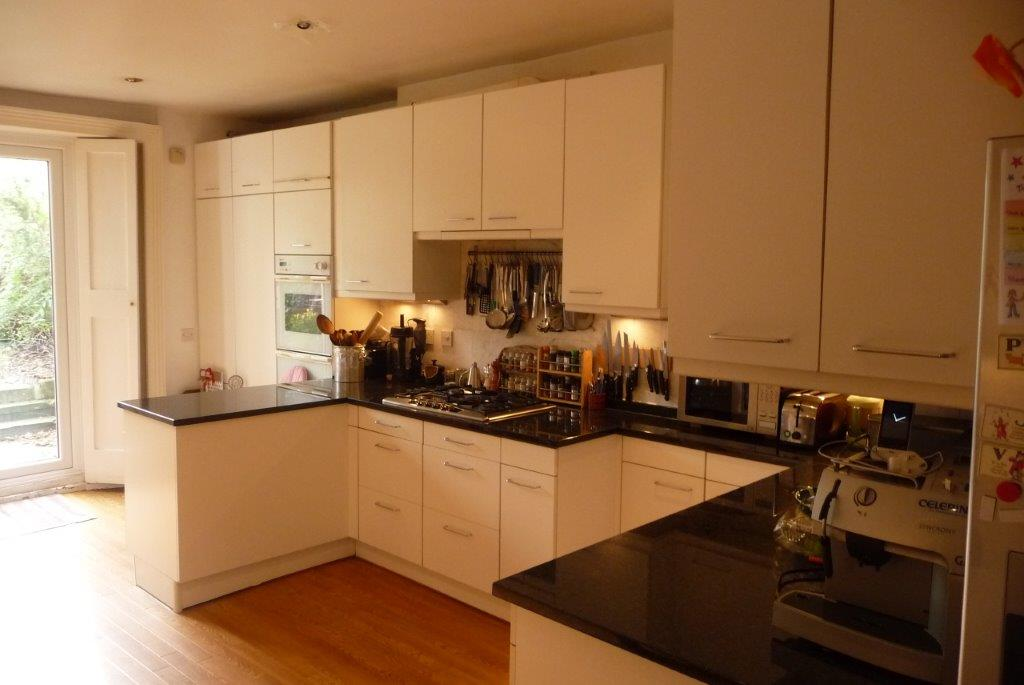 Kitchen before refurbishment