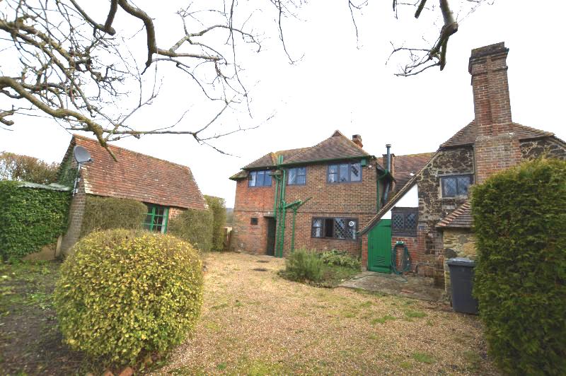 Cottage Rear Elevation Existing