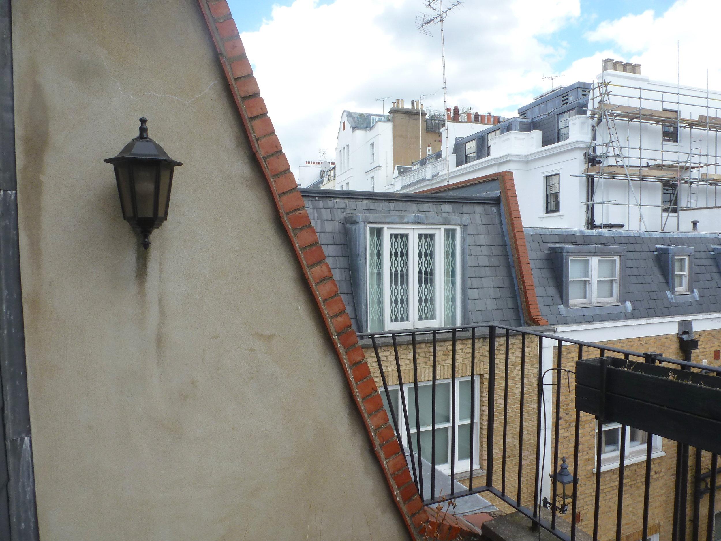 existing third floor terrace