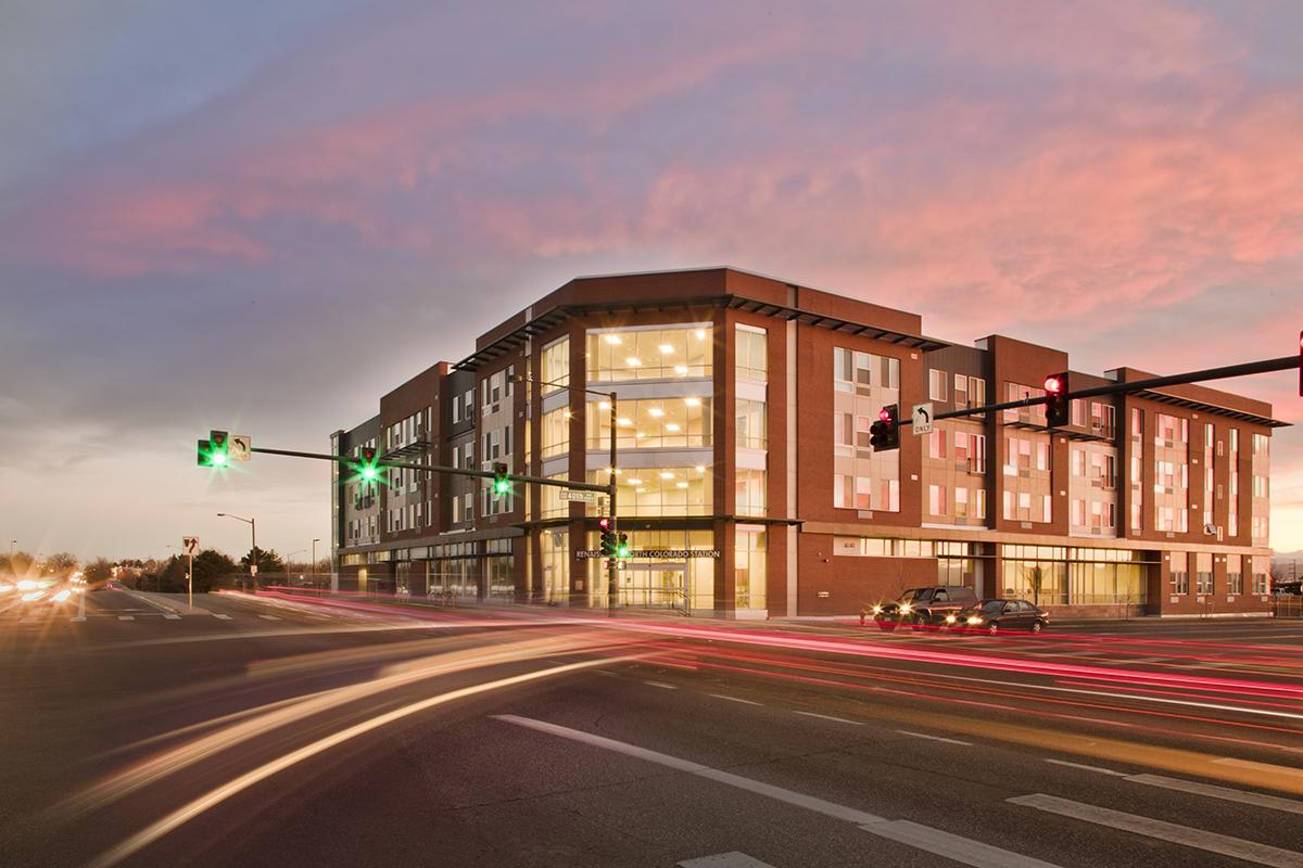 Renaissance at North Colorado Station - 2017 Housing Colorado Eagle Award2017 Housing Colorado People's Choice Award
