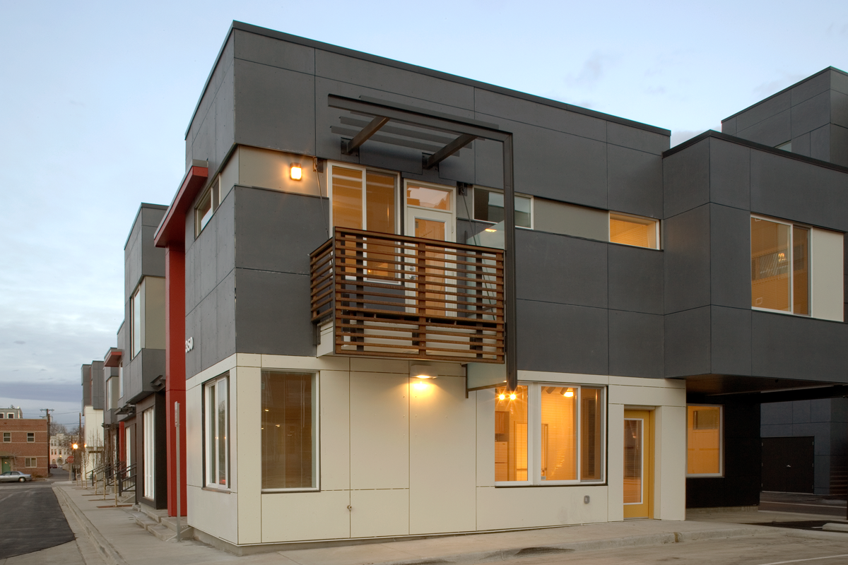 Benedict Place - 2009 Colorado Construction Gold Hard Hat Award for Green Building (Block 3B)