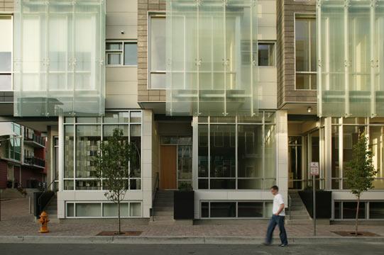 Art House Townhomes - 2007 Architect's Choice Award - AIA Denver