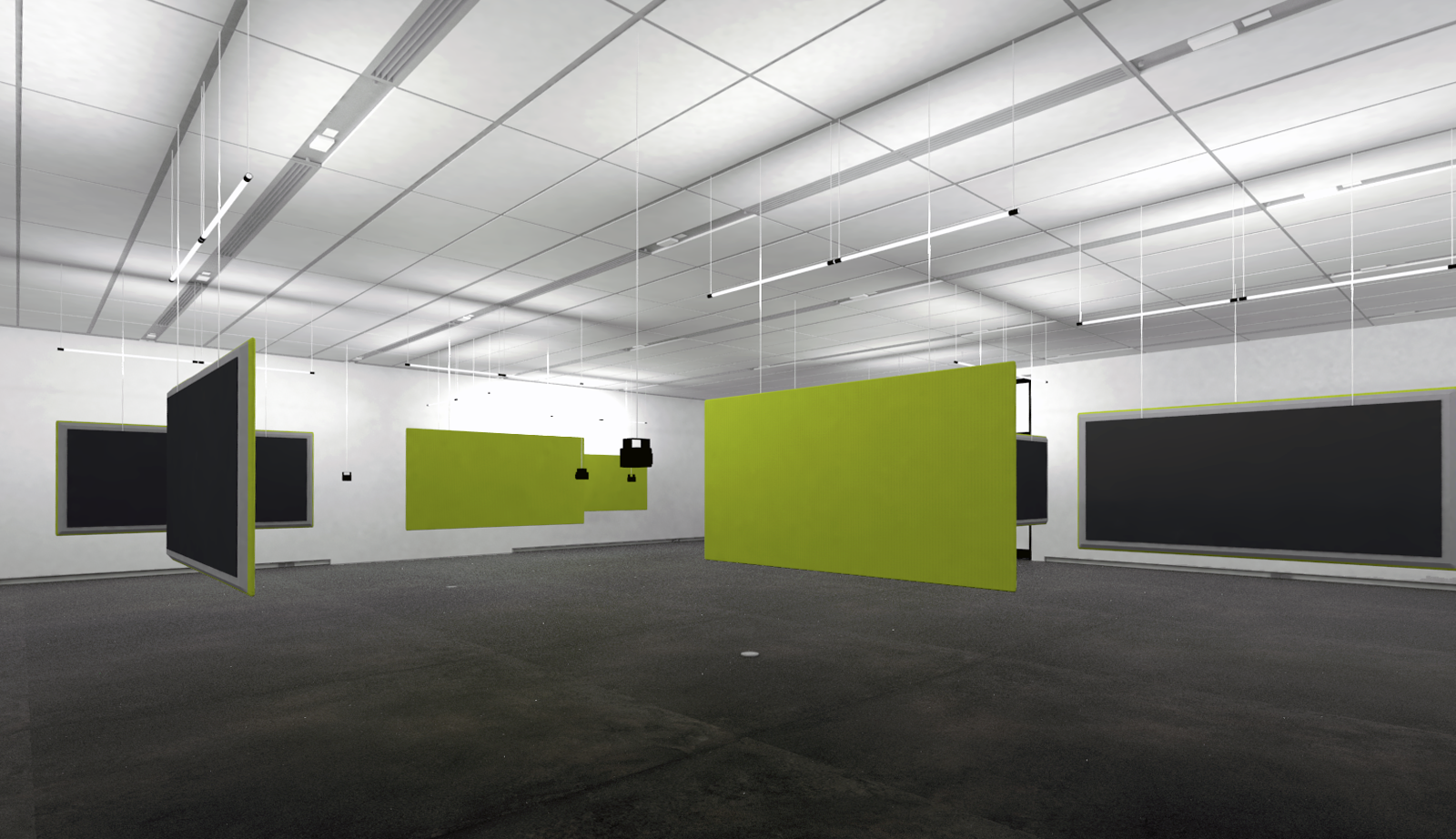 Studio Completiva gallery rendering
