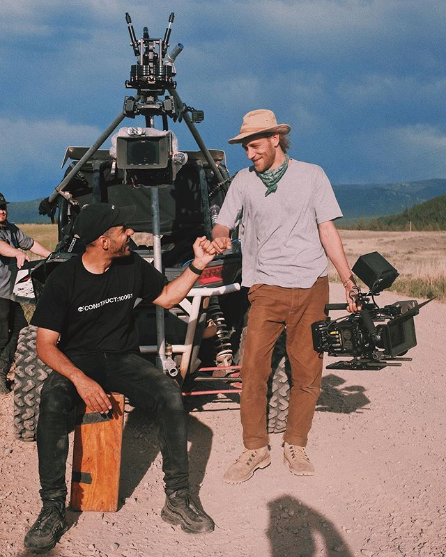 What an unbelievable experience it's been shooting this fashion campaign over Montana 🏕  First time working with an American crew, first time operating a Movi on a @flowcine black arm, first time shooting in the wilderness & it certainly won't be the last.  ¿𝘞𝘰𝘳𝘬𝘪𝘯𝘨 𝘩𝘢𝘳𝘥 𝘰𝘳 𝘩𝘢𝘳𝘥𝘭𝘺 𝘸𝘰𝘳𝘬𝘪𝘯𝘨...? 🙋🏽♂️ 