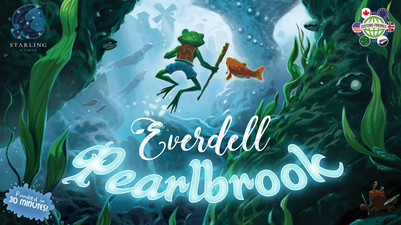 Pearlbrook: The First Expansion for Everdell  by Starling Games    Discover a new world under the river in Pearlbrook, the first expansion for Everdell.    Pre-Order Now