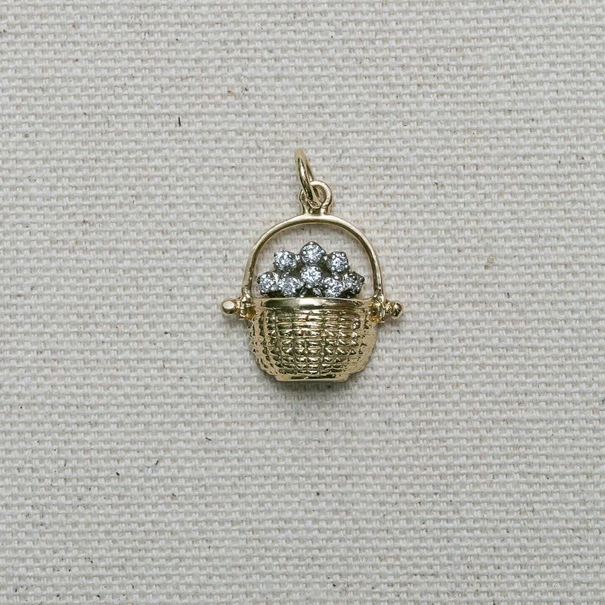Half Basket with Diamonds