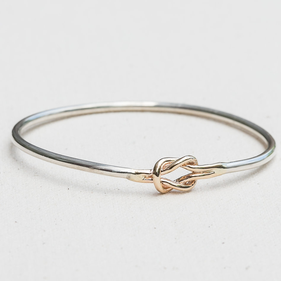 Square Knot Bangle