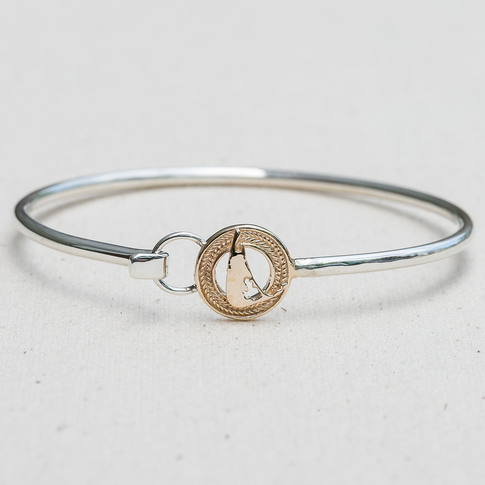 Rope Map Bangle