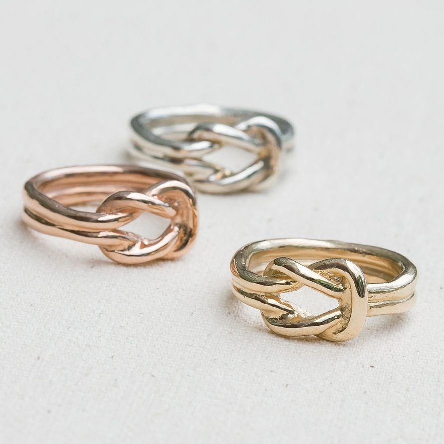 Square Knot Ring