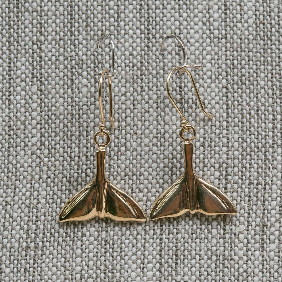 Whale Tail Earrings