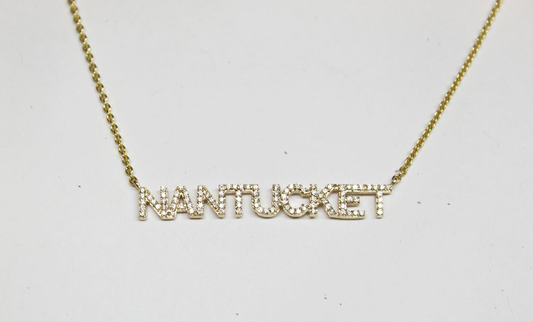 Diamond Nantucket Necklace Holiday Gift Ideas