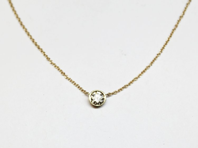 Diamond by the Yard Necklace Holiday Gift Ideas