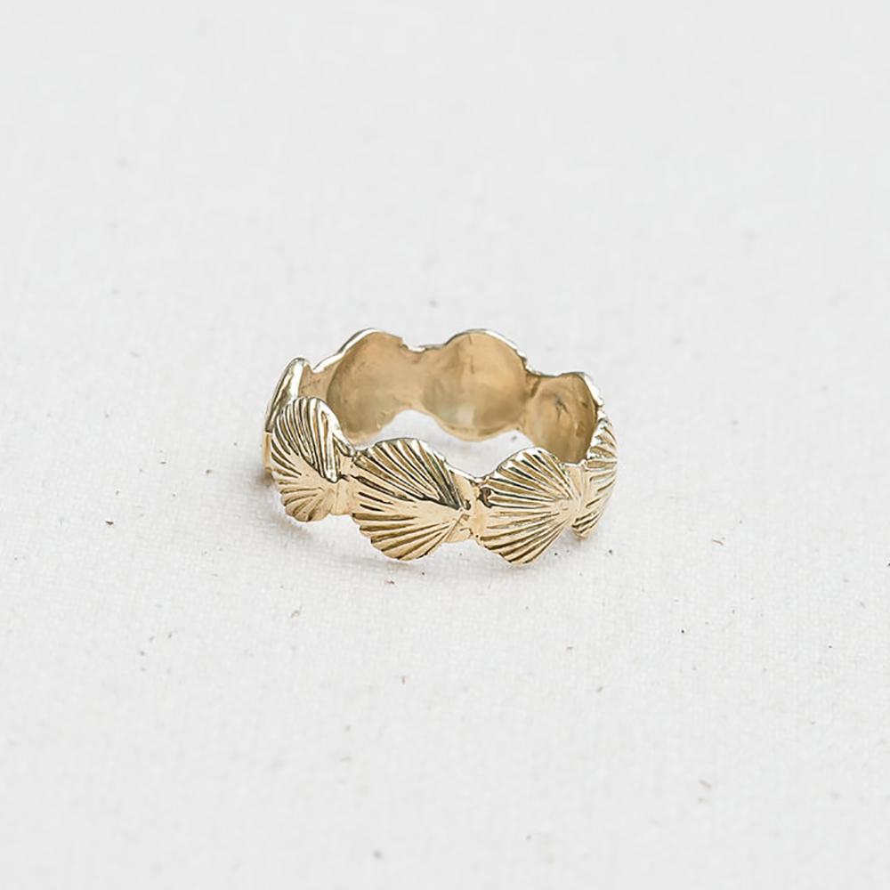 Eternity Scallop Ring Jewel In The Sea Nantucket