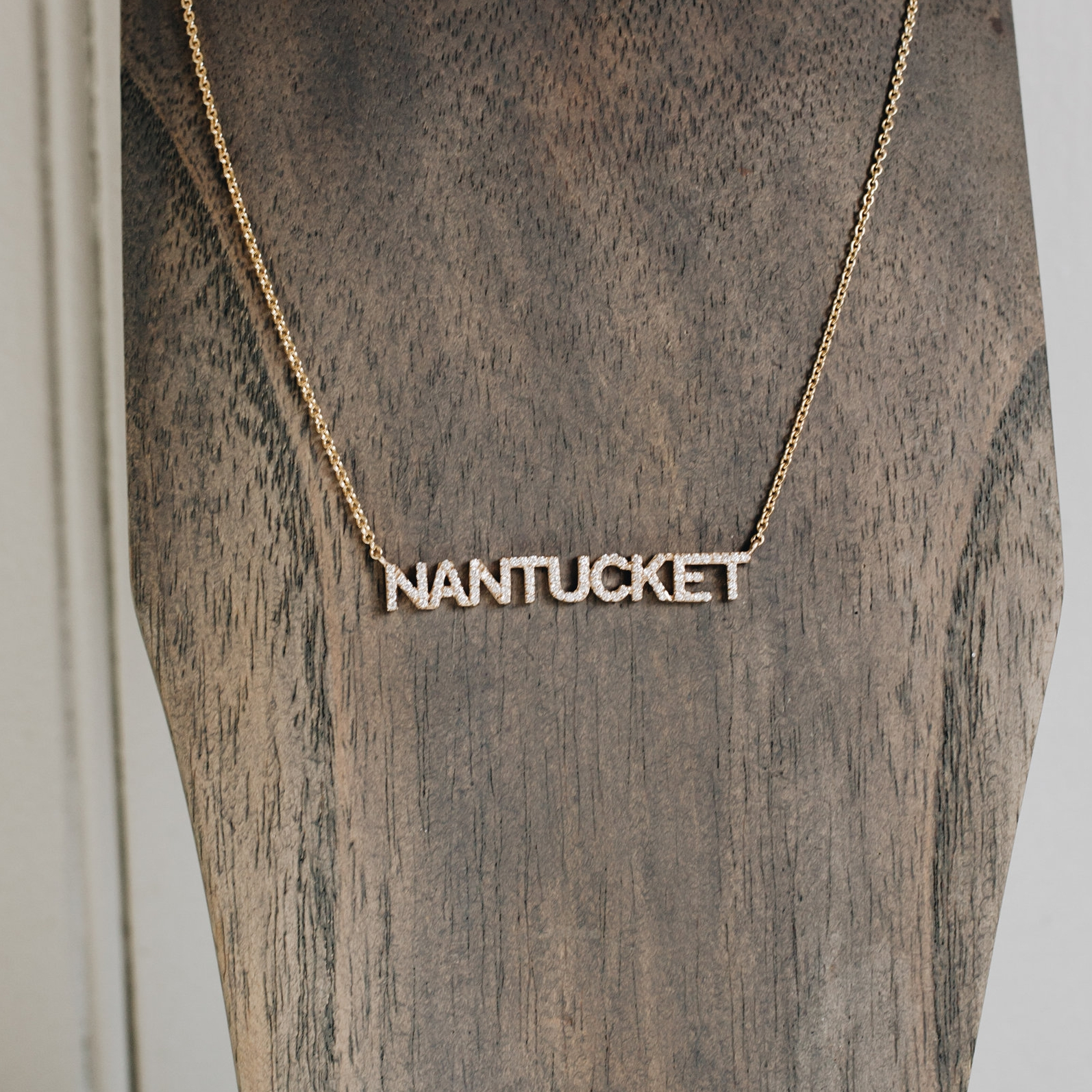 "Diamond ""NANTUCKET"" Necklace"