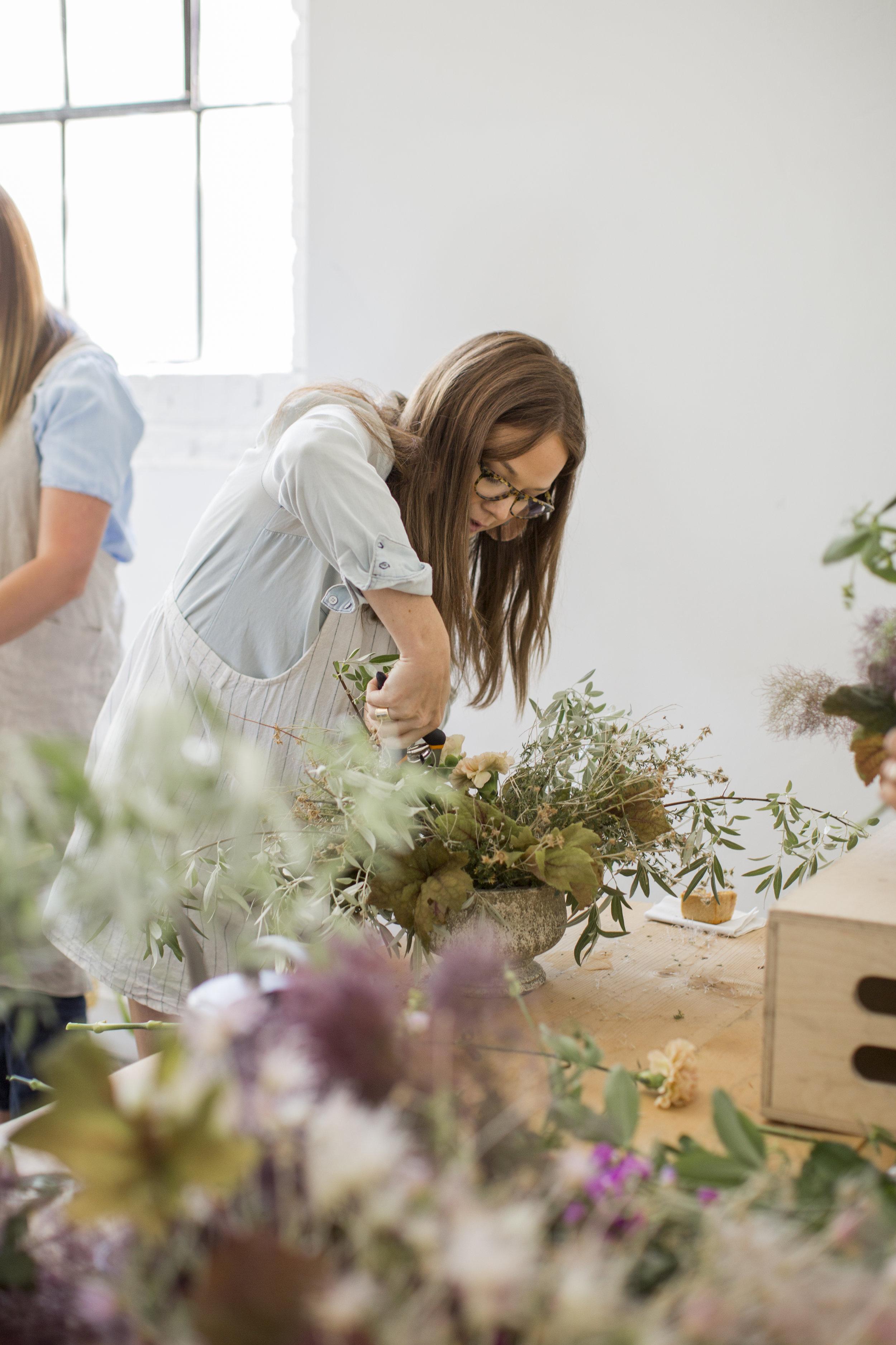 Amanda Page -  Owner |Lead Floral Designer