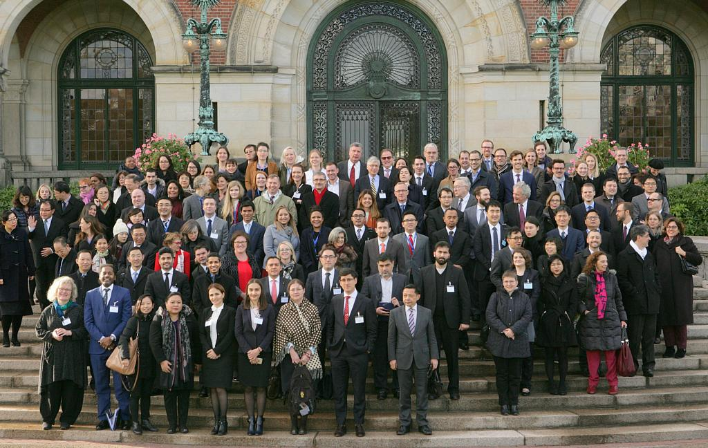 Group picture of the participants of the third meeting of the Special Commission on the Recognition and Enforcement of Foreign Judgments at the Hague Conference on Private International Law (HCCH), where I represented Ecuador. Credit: HCCH.