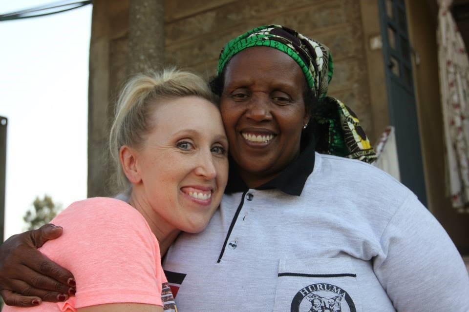 Board member, Andra Good and Mama Zipporah, Huruma's founder.