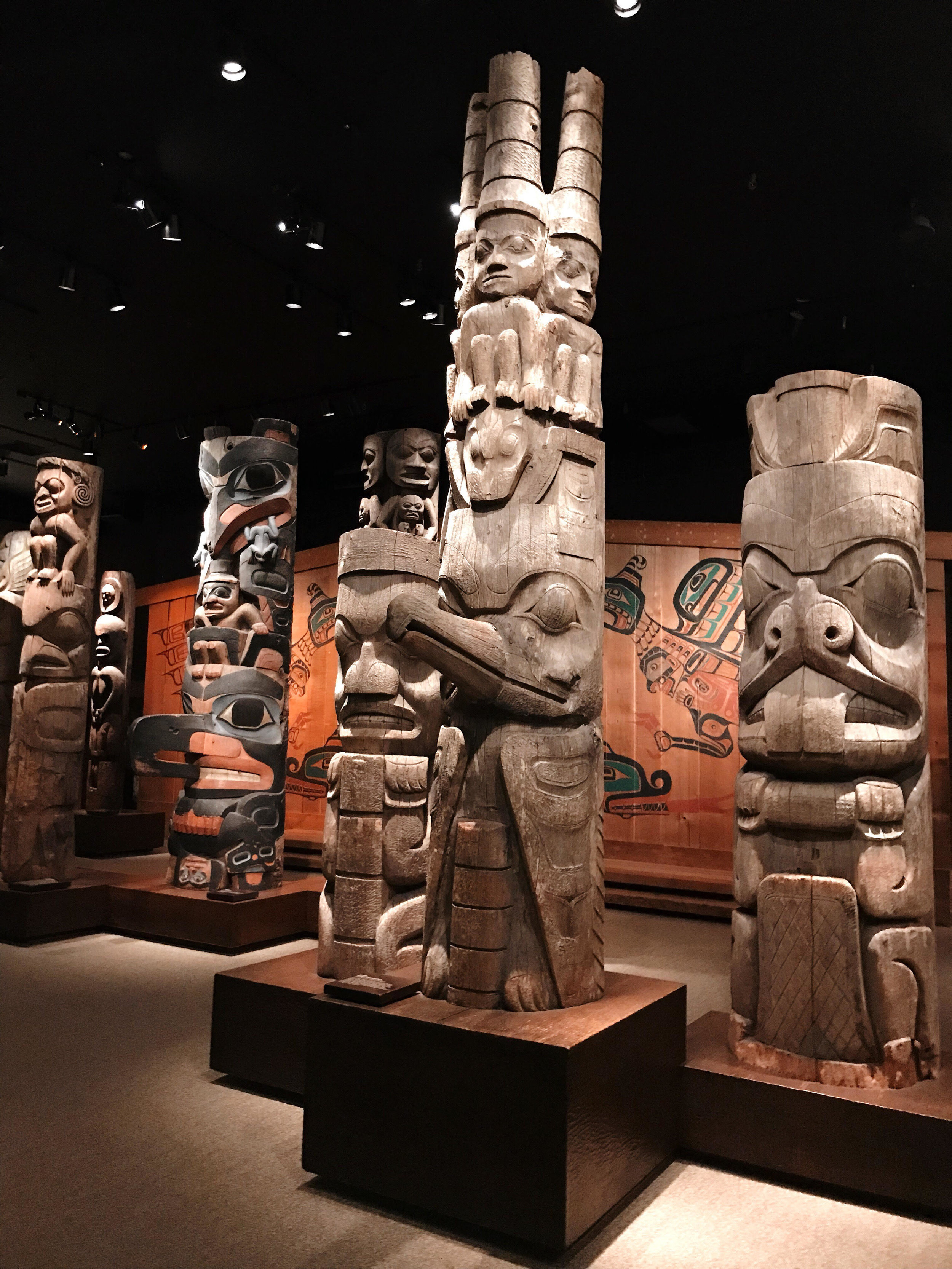 Totem Hall at RBCM .