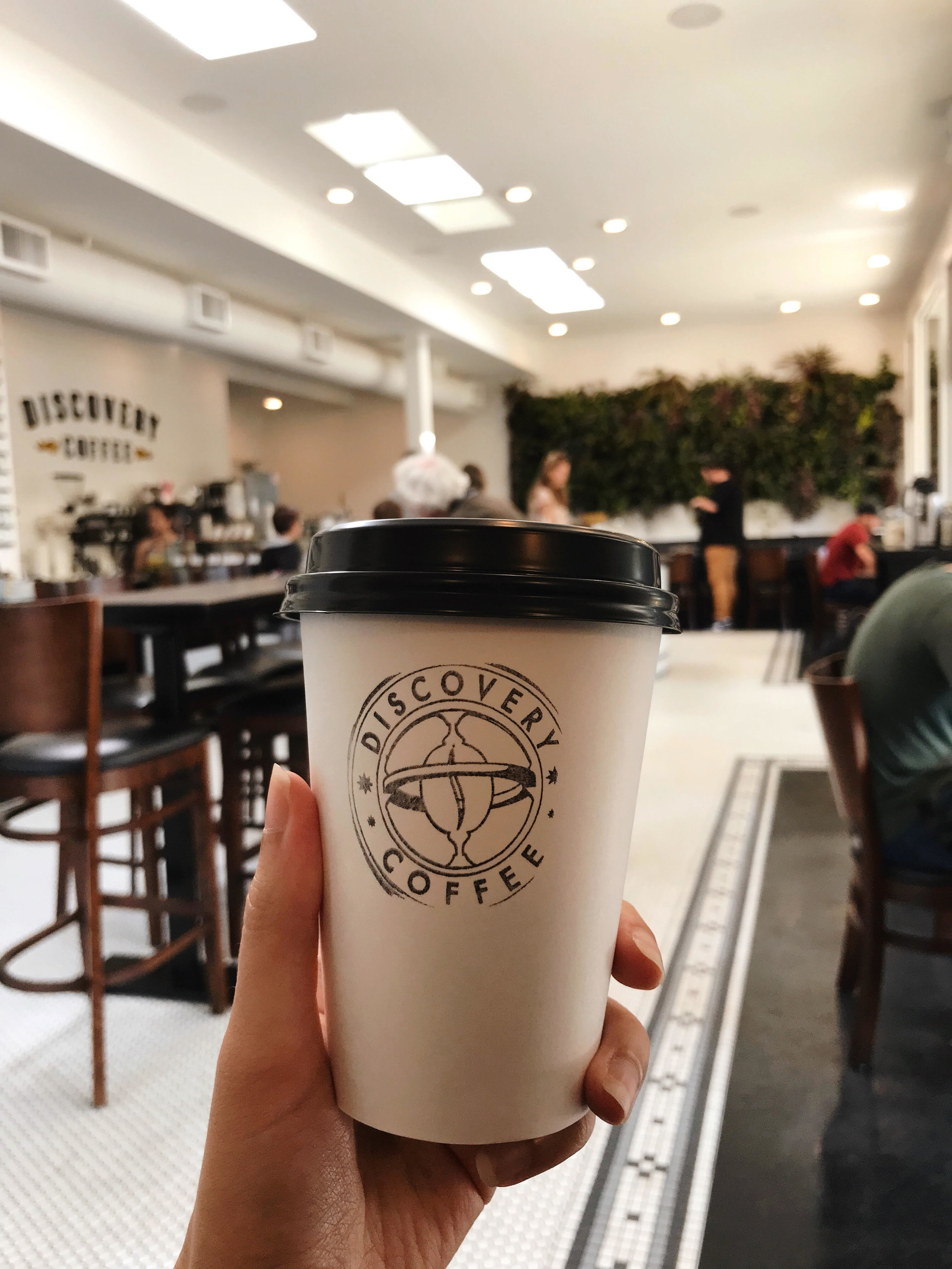 Very good matcha lattes.