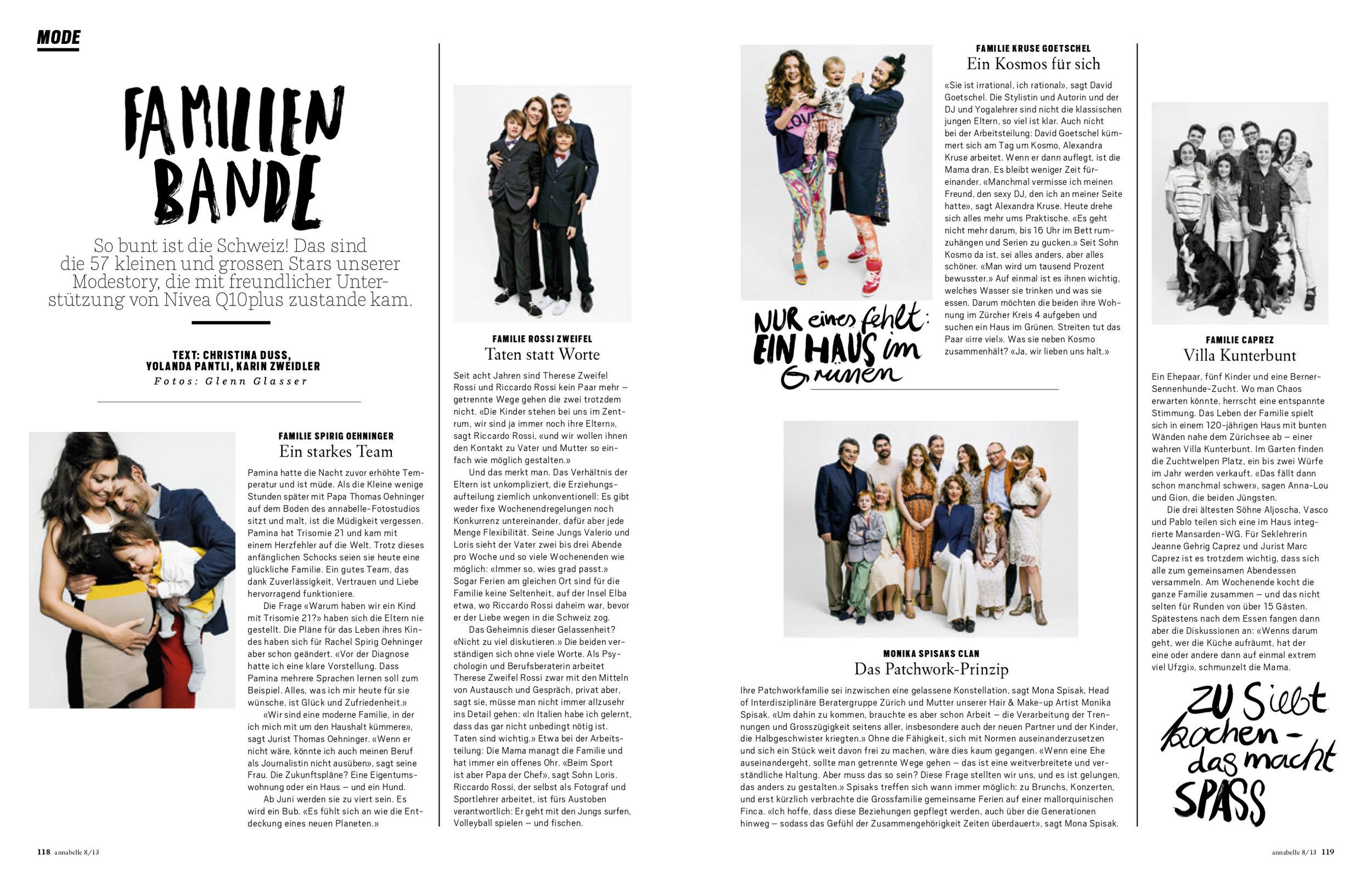 FAMILIENPORTRAITS / ANNABELLE 2013