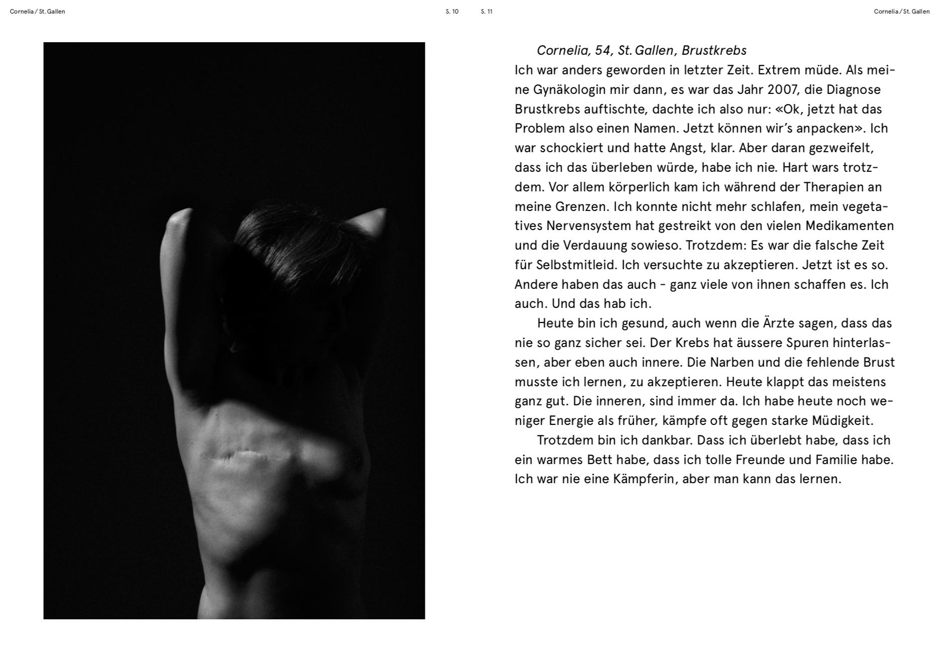 O-TON CORNELIA / NARBEN-PROJEKT MIT FOTOGRAFIN CLAUDIA GSCHWEND