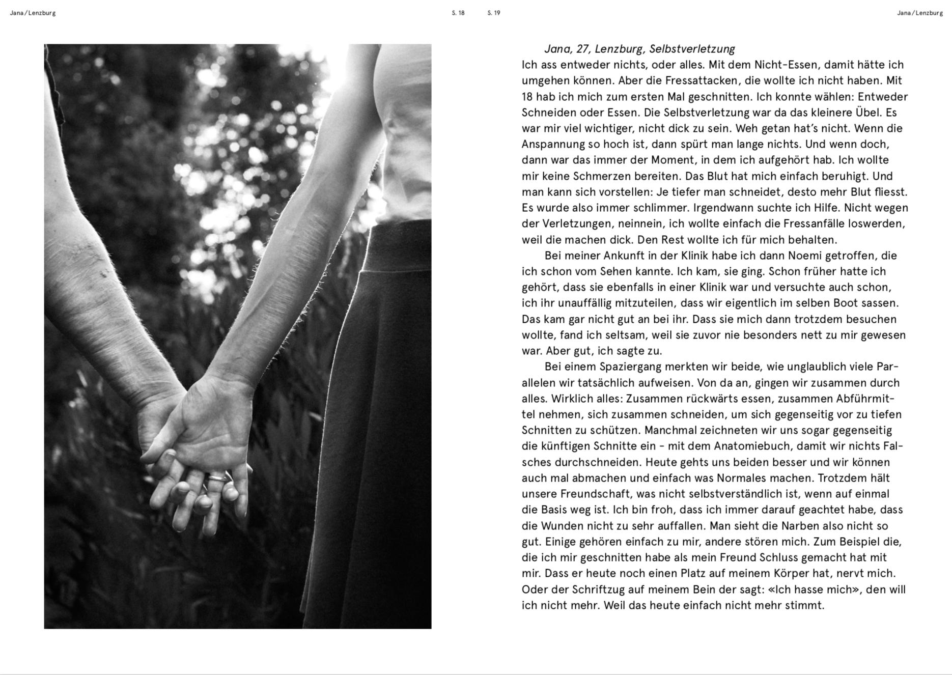 O-TON JANA / NARBEN-PROJEKT MIT FOTOGRAFIN CLAUDIA GSCHWEND