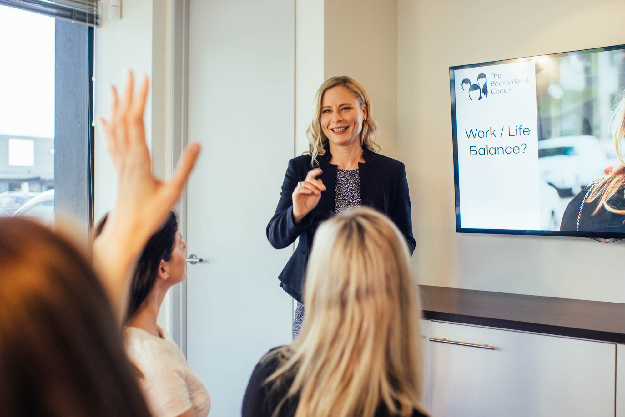 The Back to Work Coach Workshops