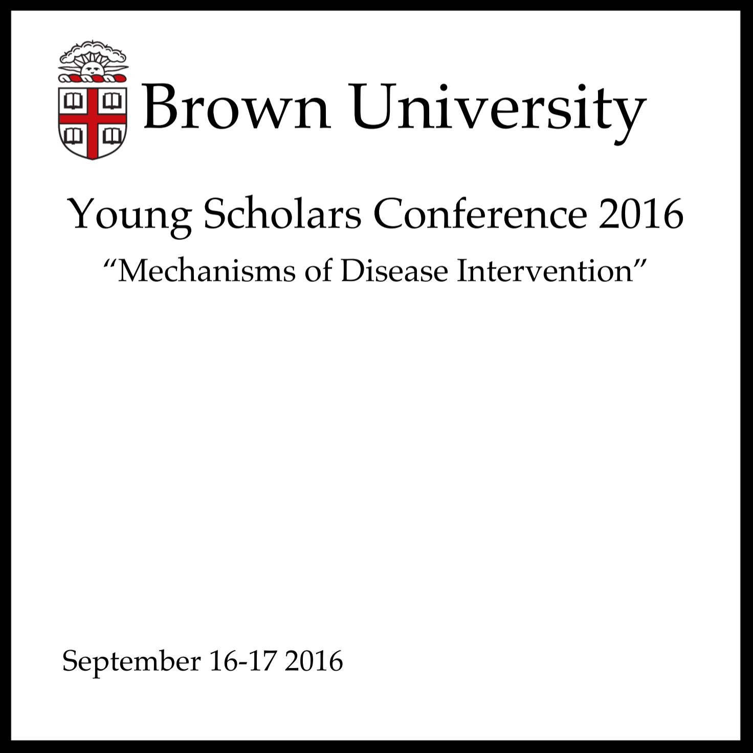 Click above image or  here  to see the program from 2016's YSC!
