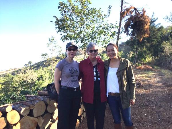 Mary Allen Lindemann, Nancy Langer, and Celeste Fumagalli. February 2018.