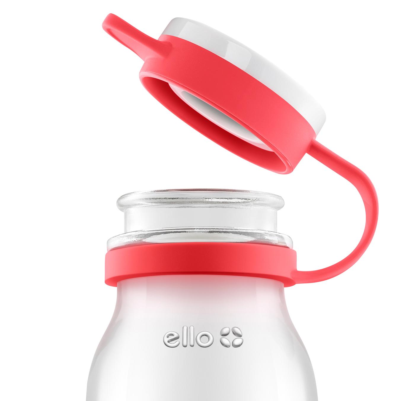 Ello Products Elsie 22oz Glass Water Bottle