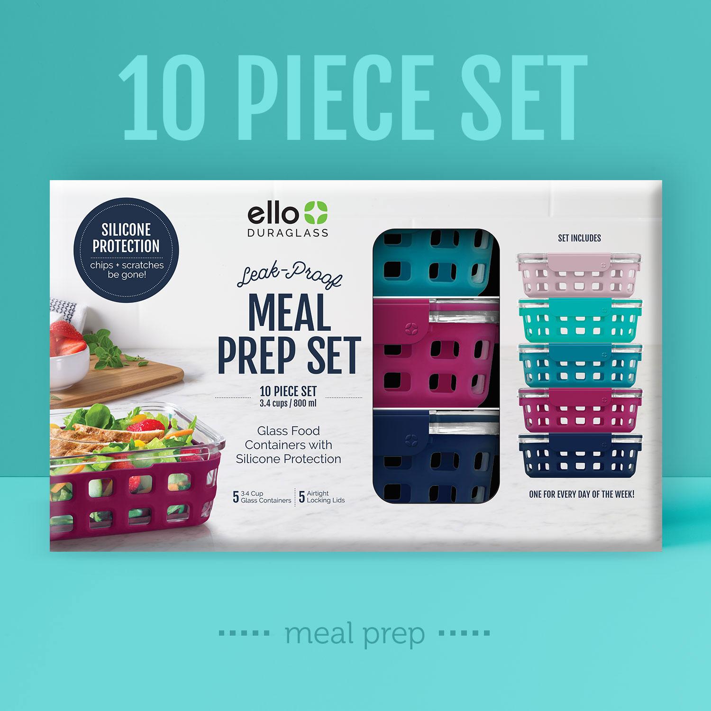 10pc Meal Prep Set