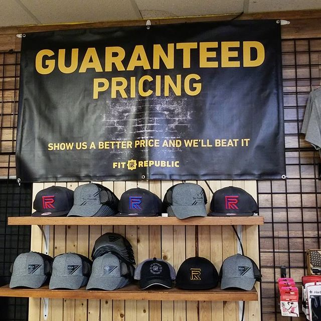 Do you know what Guaranteed Pricing means ??? It means if you find it cheaper, we'll beat it! We already are very careful to make sure we have the lowest prices of any store - online or physical.