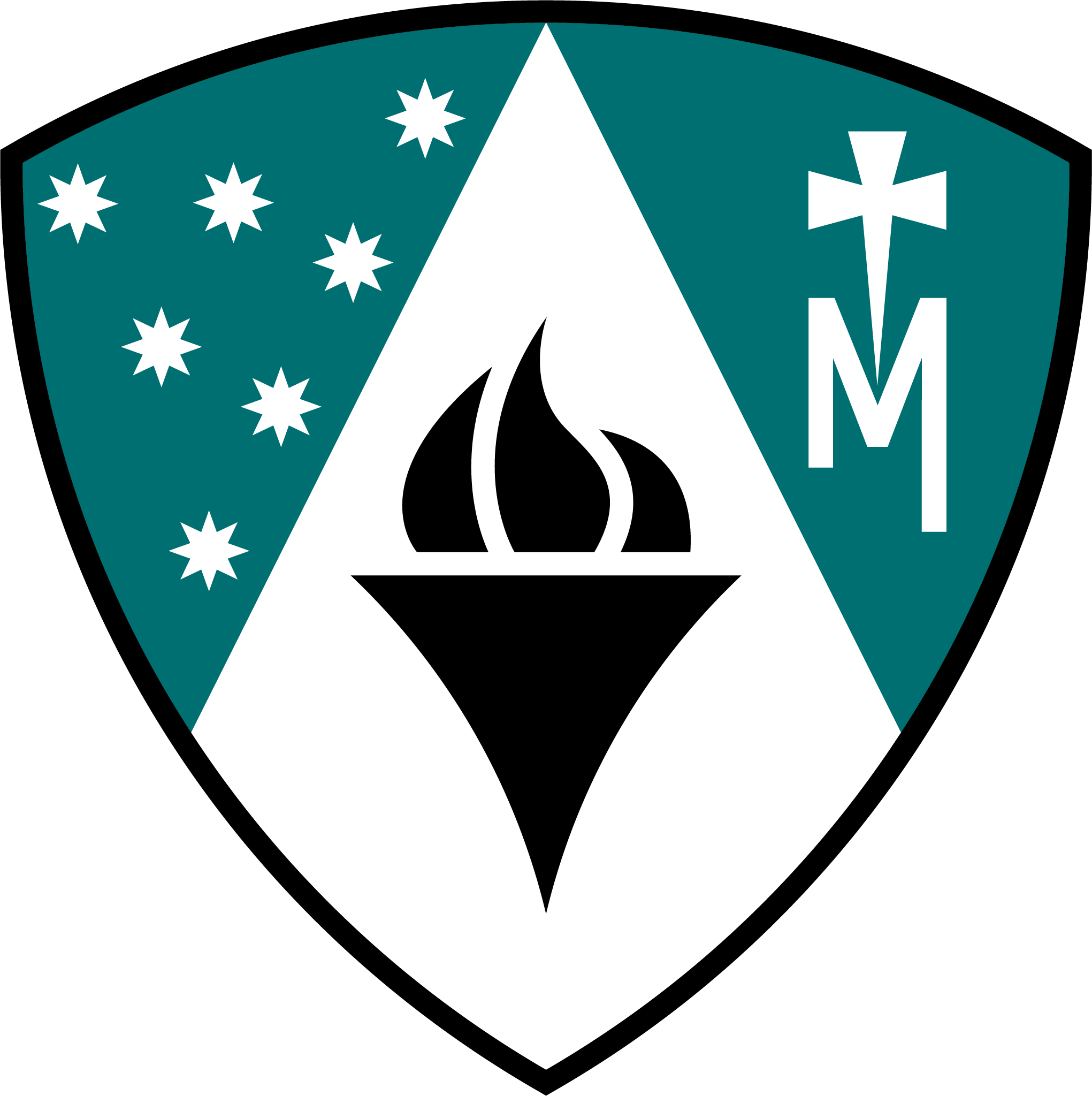 JPII Coat of Arms Standalone - RGB_Full Color on Teal.png