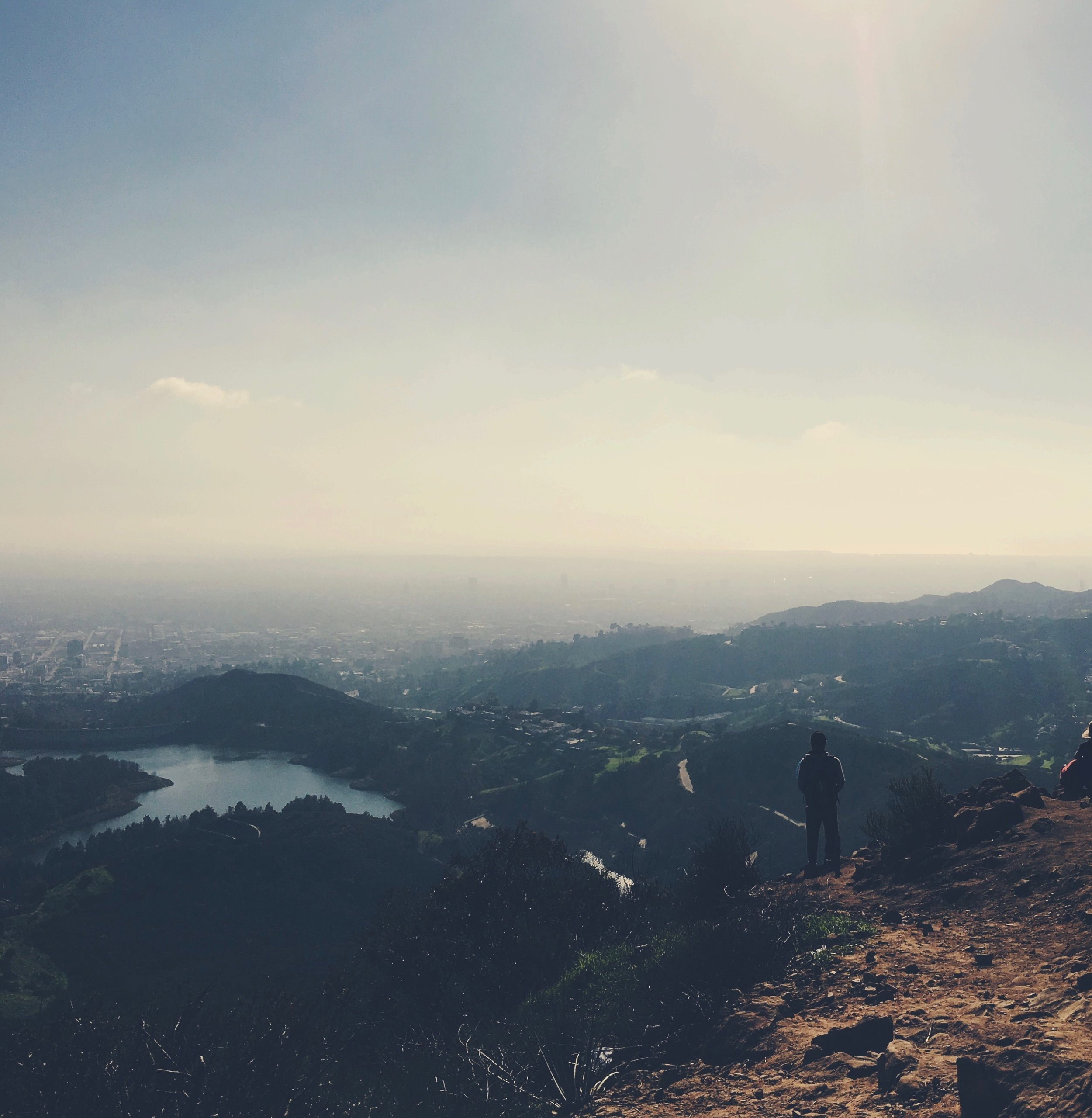 Hiking to Hollywood Sign -