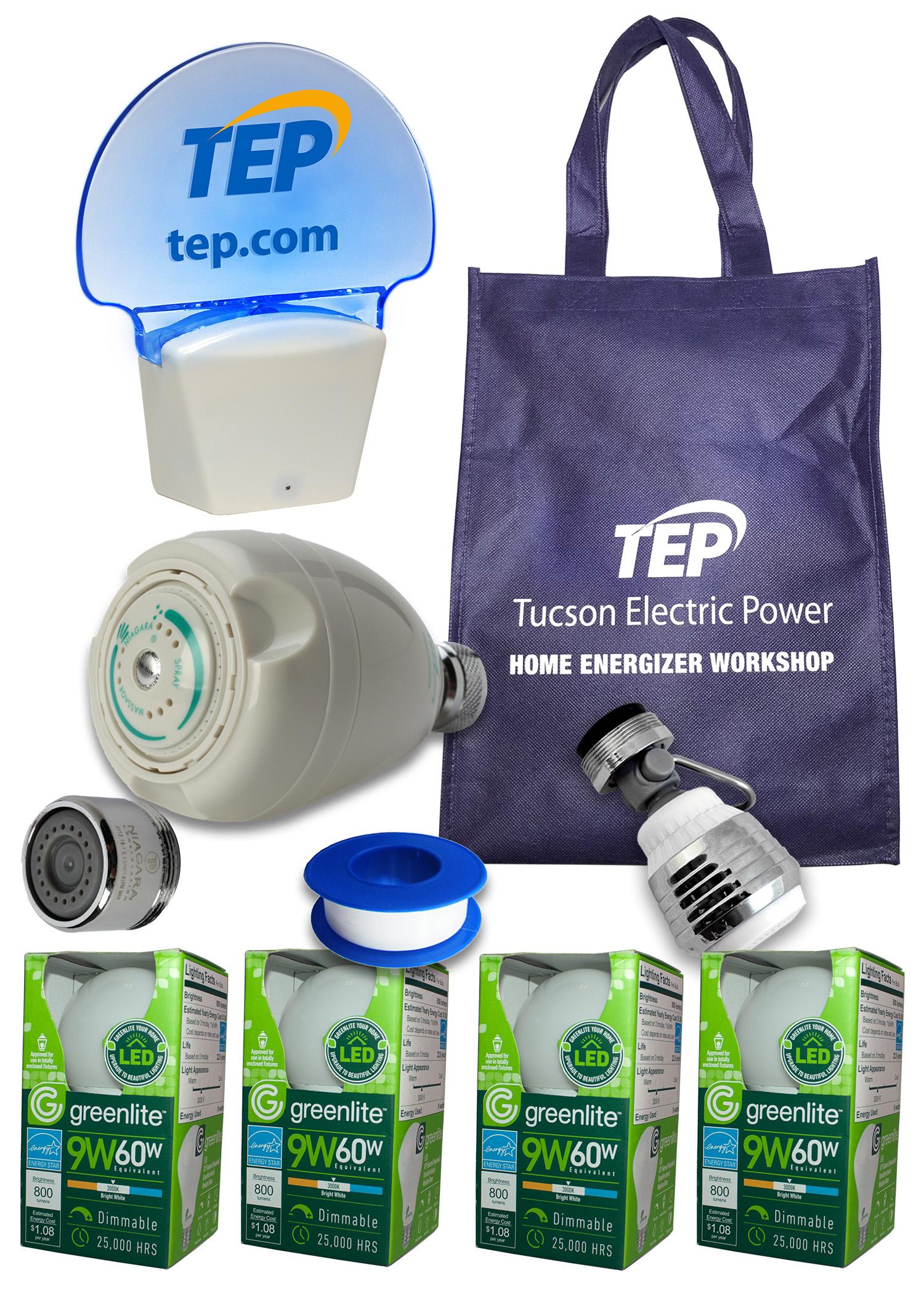 Each participant receives an Energy Efficiency Kit.