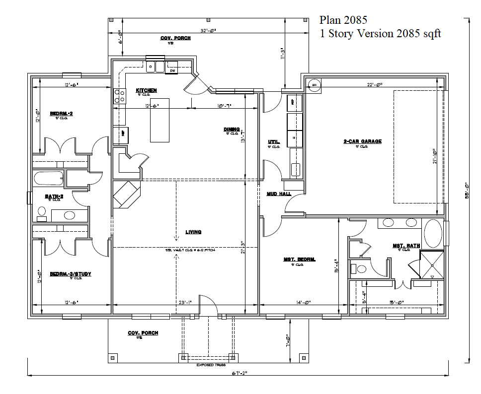 1 story floor plan of 2085 plan.png