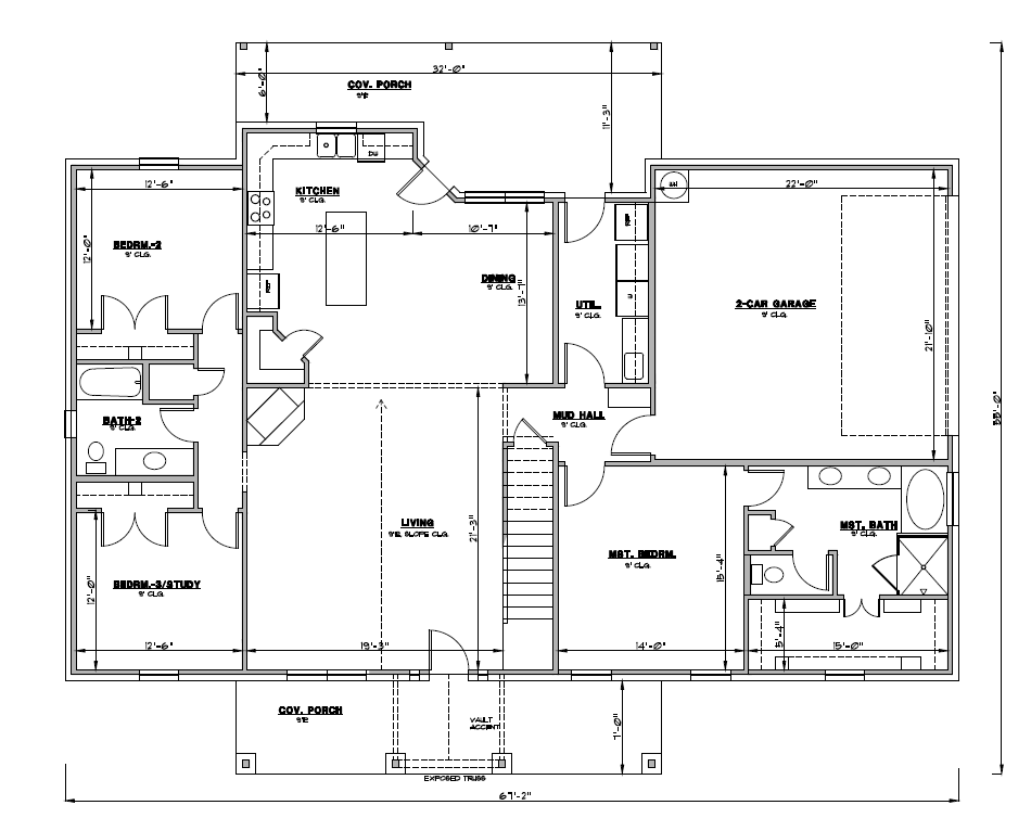 2 Story Floor Plan of 2085+521.png