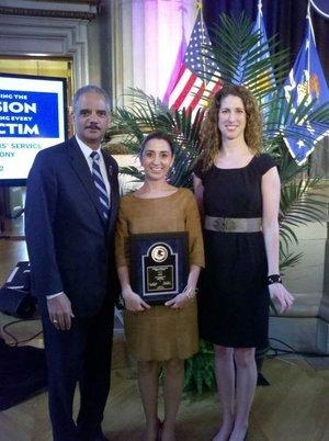 National Crime Victim Service Award -